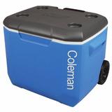 Caixa Cooler Térmico 56,8 L Tampa Assento Rodas - Coleman