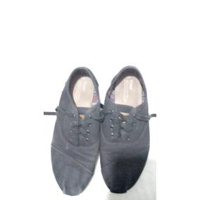 Zapatos Toms Negros Seminuevos