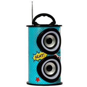 Caixa De Som Bluetooth 25w Trc Portátil - Trc 218c
