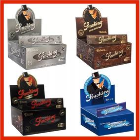 2 Caixas Seda Smoking Original Com 50 C/ Frete Gratis