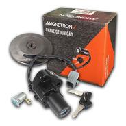 Kit Chave Ignição Contato Fazer 250 2011 Até 2015 Magnetron