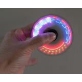 Fidget Spinner Luces Led Juguete Anti Estrés