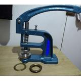 Maquina Ojetillos Grande + Matriz 40mm Ojetillos