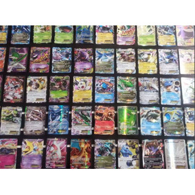 Pokemon Mega Pacote 50 Cartas Com Ex Ou Turbo Sem Repetidas