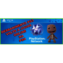 Desbanimento Ps3 Psid Idps Console Id Exclusiva Psn Online