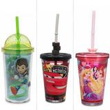 Vaso Y Termo Minnie, Princesas Y Rapunzel Disney Importado