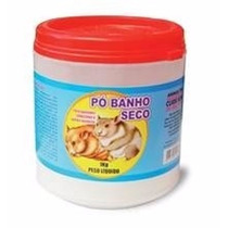 Pó Banho Seco Para Hamsters Chinchilas1kg - Roedores