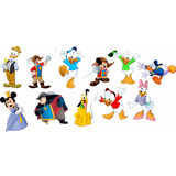Turma Do Mickey Kit 10 Display De Mesa De 21 A 30 Cm