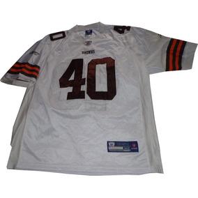 Camiseta Cleveland Browns Futbol Americano Reebok Nfl Usa Xl 37aaa93d51326