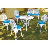 Kit Palmeira Jardim (4 Mesa + 16 Cadeiras + 4 Banco) E Almof