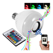 Lâmpada Led Music Bulb Bluetooth Rgbw Com Controle