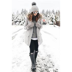 Leggins Termicos Invierno Unicolor Dama Importados