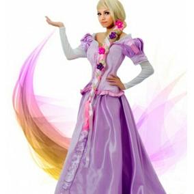 Peluca Rapunzel Adulto Enredados Show Anime F.