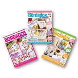 Lote De 3 Revistas - Bordados Da Vovó - Artesanato
