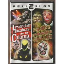 Mil Mascaras 2 Peliculas En 1 Nuevo Dvd Momias De Guanajuato