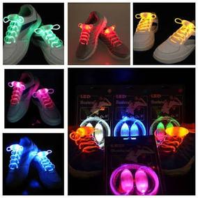 Cintas Agujetas Luz Led Tenis Zapatos Las Mejores