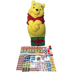 Envío Gratis Piñata Winnie Pooh Con 2.36kg De Dulces Surtido