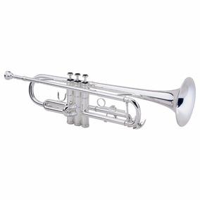 Trompete Milano Xtr006 Premium Prateado Bb Si Bemol + Estojo