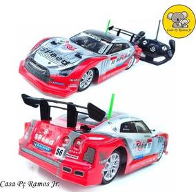 Carrinho De Controle Remoto Carro Drift Manobra Turbo 34 Cm
