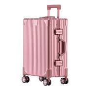 Maleta Carry On Chica Cabina De Aluminio Rigida 4 Ruedas