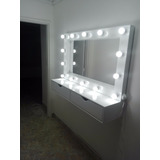Espejo Para Salon De Belleza-maquillaje Profesional!