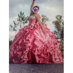 Vestido De Xv Años Rosa Fresa