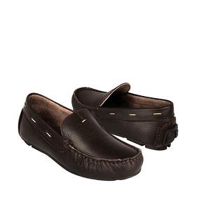 Zapatos Casuales Calzado Chabelo 51202-a 18-21 Piel Cafe