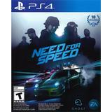 Need For Speed Ps4 Juego Fisico, Nuevo Y Sellado