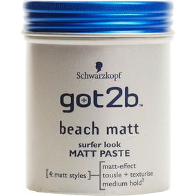 Got2b Beach Matt Pasta Modeladora Efeito Seco Schwarzkopf
