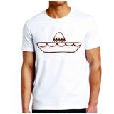 Camiseta Roupas Masculina Sombreiro Mexicano
