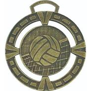 100 Medallas Deportivas Voley 4,5cm