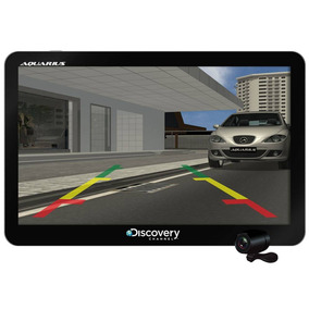 Gps Automotivo Discovery 7 Tv Digital E Câm Ré Alerta Radar