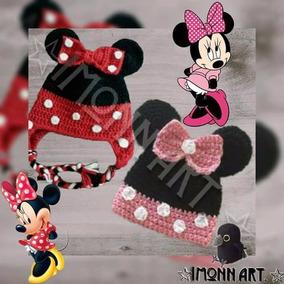 Minnie Mouse Gorro. #1 Tejido A Mano, Crochet!