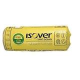 Lana De Vidrio Rolac Plata (aluminio) Isover 50 Mm 21,60 M2