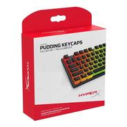 Set Teclas Hyperx Pudding Keypads Abs Negras Y Blancas Latam