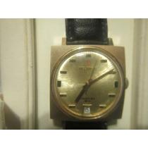 Reloj Helbros Suizo De Cuerda Vintage Muy Exacto En Perfecto