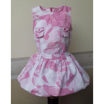Vestido Importado Para Nena, 1-2 Años, Gymboree, Usa