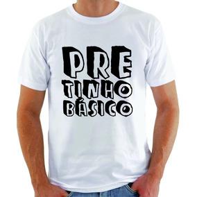 Camiseta Pretinho Básico Programa