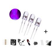 2 X Kit 10 Leds Ultravioleta P/ Armadilha De Pernilongo