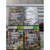 Coleccion De Video Juegos Gta Para Xbox 360 Con Mapa