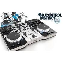Consola Hercules Dj Instinct +placa De Sonido Dj Profesional