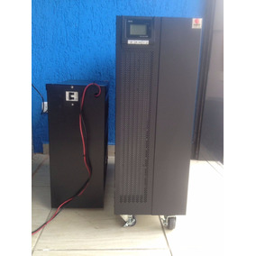 Nobreak Becatech Modelo Hp 960 Rcd, 6kva,4.2 Kw, 40 Baterias