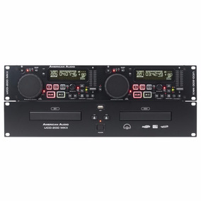 Reproductor American Audio Dj Ucd200 Mkii Mp3 Cd Usb Doble