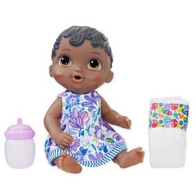 Boneca Baby Alive - Negra - Hora Do Xixi - E0308 - Hasbro