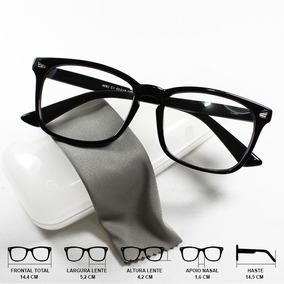 77f3cc62ad16b Oculos De Grau Feminino Azul Marinho - Óculos Preto no Mercado Livre ...