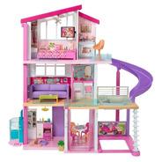 Mega Casa De Los Sueños Barbie Dream House + 70 Accesorios