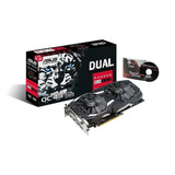 Tarjeta De Video Rx 580 4gb Ddr5 Oc Asus Dual Fan