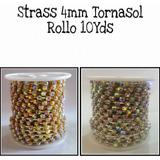Strass Por Rollo 10yds Variedad En Colores La Mejor Calidad