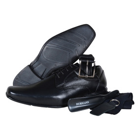 Sapato Social Masculino De Couro Kit Gp
