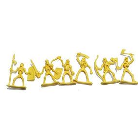 Skeleton Warrior 20 Pieza 2 Pulgadas De Plástico Figura Set